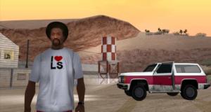 Карта GTA San Andreas