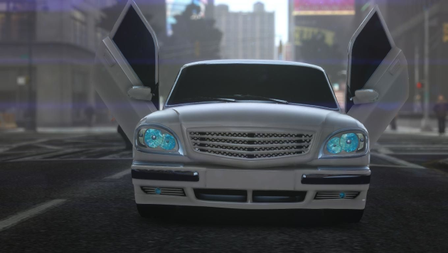 GAZ 31105 Tuning Aze Style