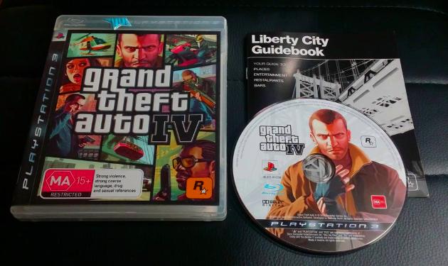 GTA 4 на Playstation 3