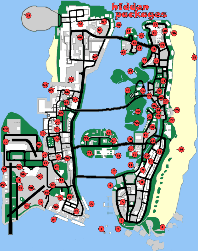 Map GTA Vice City