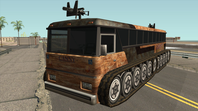 Panzer Bus