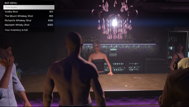 Опьянение в GTA Online