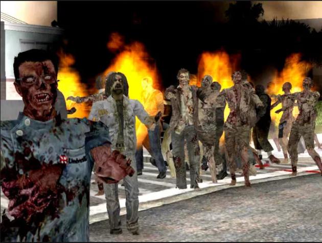 Зомби мод