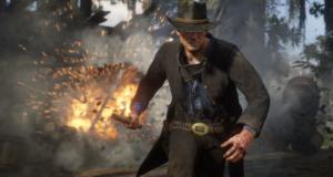 Red Dead Redemption 2 геймплей