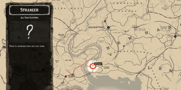 Белые точки на карте