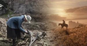 Red Dead Redemption 2 кости динозавров