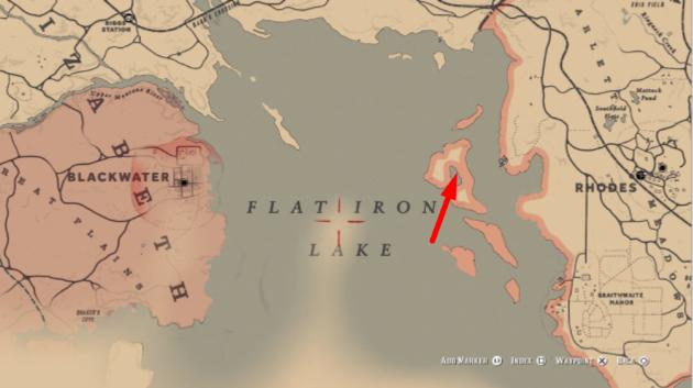 Озеро Flat Iron Lake