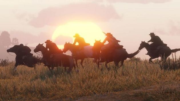 Отряд на лошадях
