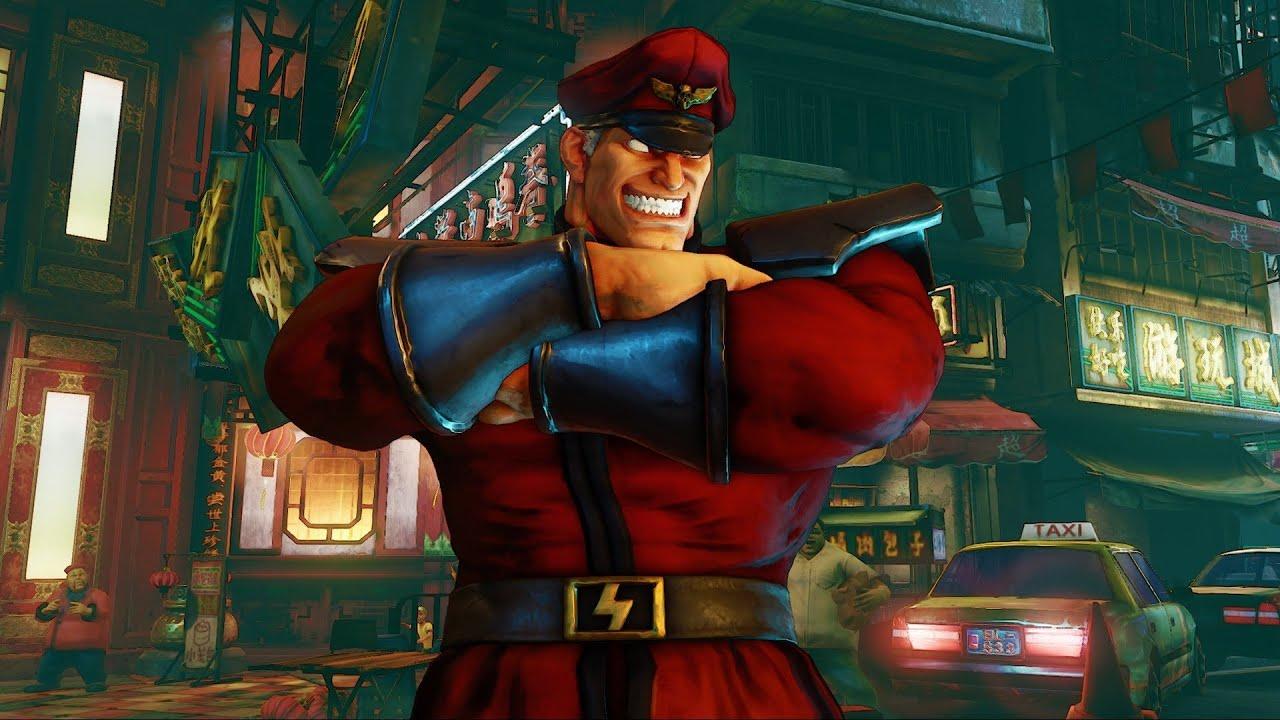 M. Байсон – Street Fighter 5