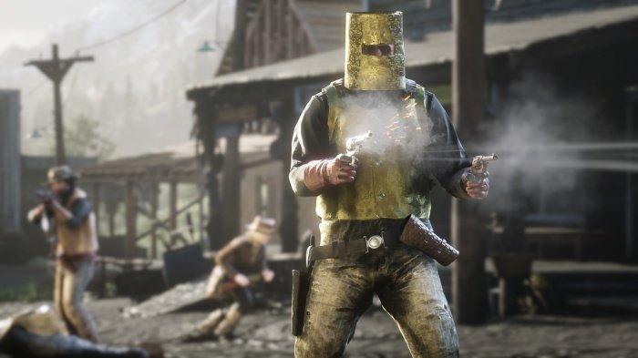 Рыцарь в золотых доспехах