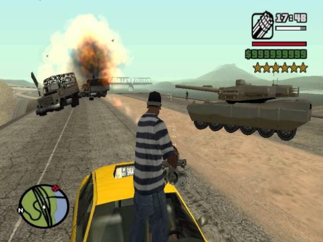 6 уровень розыска в GTA