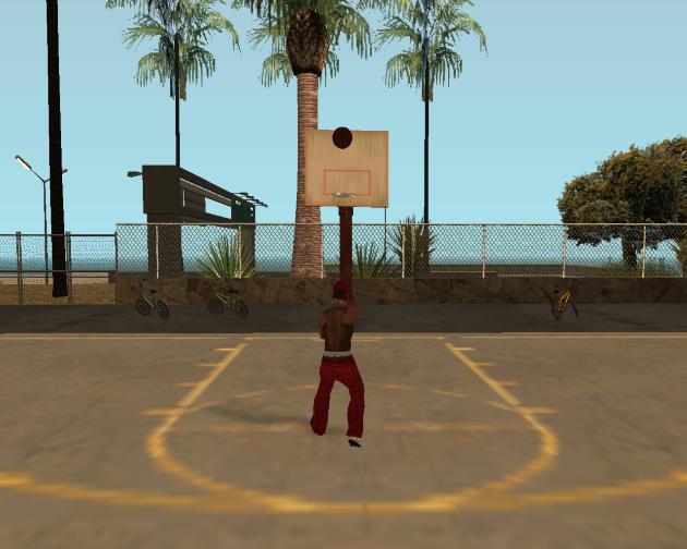 Баскетбол в San Andreas