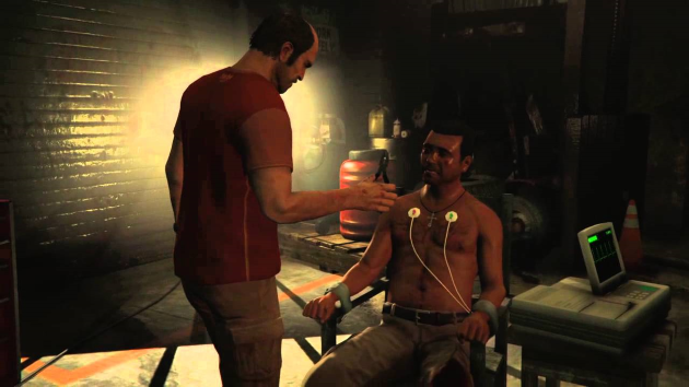 Сцена пыток в GTA V