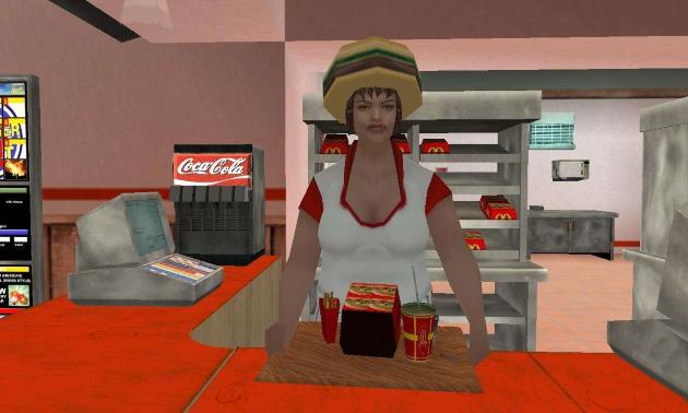 Фаст-фуд закусочная в GTA