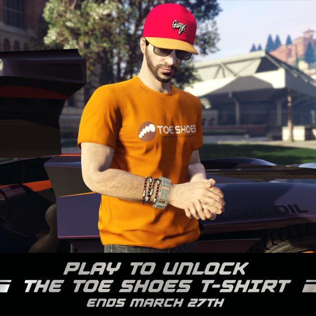 Футболка Toe Shoes