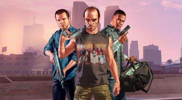 Герои игры Grand Theft Auto V