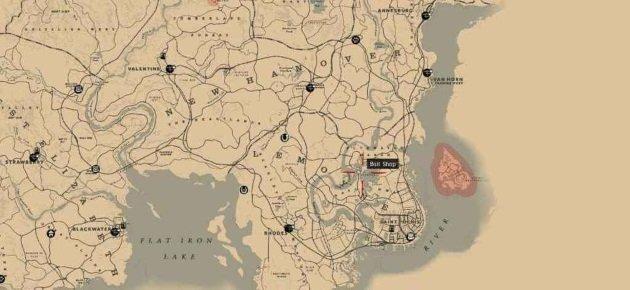 Карта поимки Легендарной рыбы