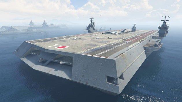 Морское обновление в GTA Online