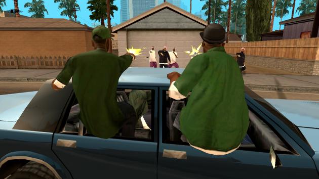 Бой между бандами