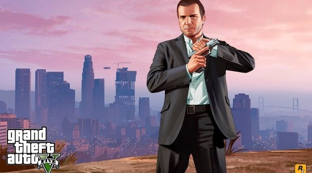 Майкл Де-Санта из GTA 5