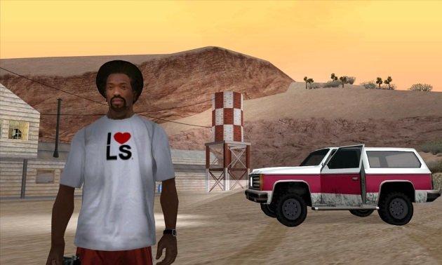 Карл Джонсон из GTA San Andreas
