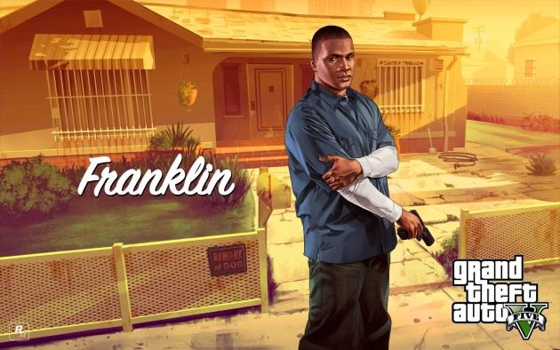 Франклин Клинтон из GTA 5