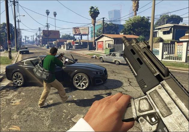 Новое оружие в GTA 5