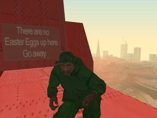Пасхалка в GTA San Andreas