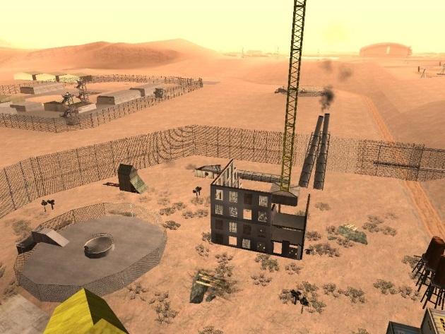 Секретная военная база