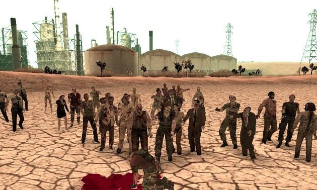 Зомби в San Andreas