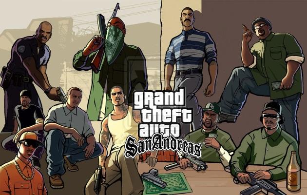 Протагонисты и антагонисты в GTA San Andreas