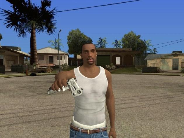 Карл Джонсон из игры GTA San Andreas