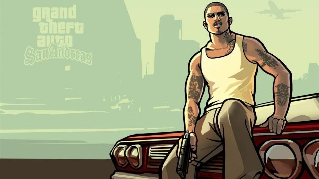 Цезарь Виальпандо из GTA San Andreas