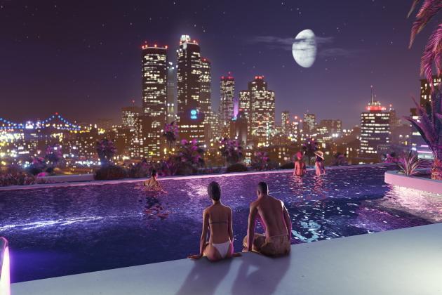 Панорамный бассейн