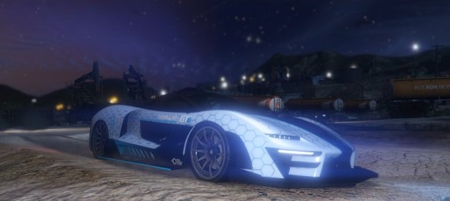 Скрытая машина в GTA Online