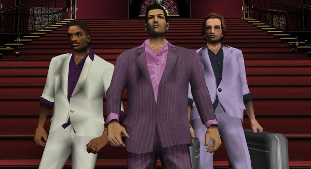 Герои игры Grand Theft Auto Vice City
