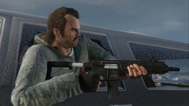 Тревор Филлипс из GTA 5