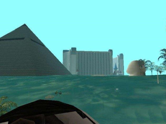 GTA San Andreas поглотила вода