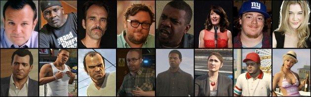Персонажи Grand Theft Auto 5