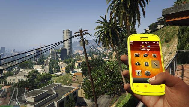 Мобильный телефон в GTA 5