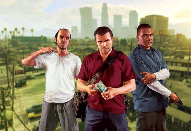 Популярные персонажи Grand Theft Auto