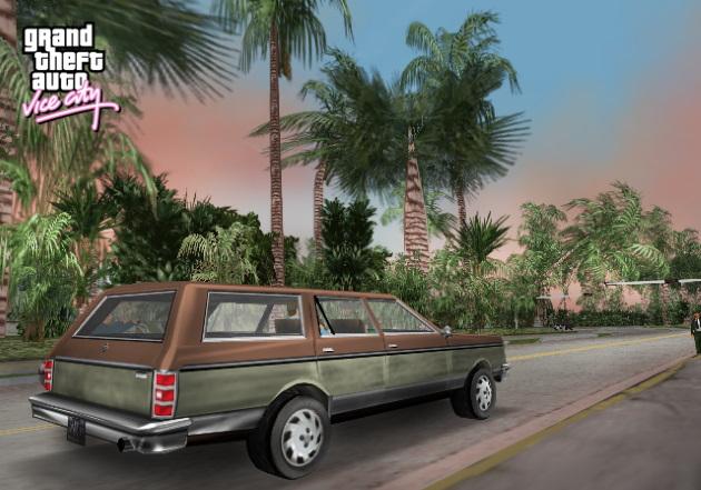 Автомобиль Regina в GTA Vice City