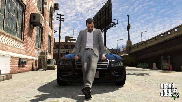 Один из главных героев игры GTA 5