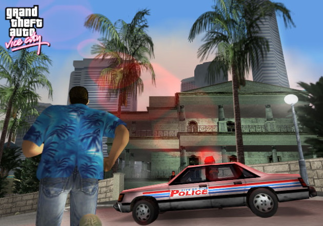 Полиция в GTA Vice City