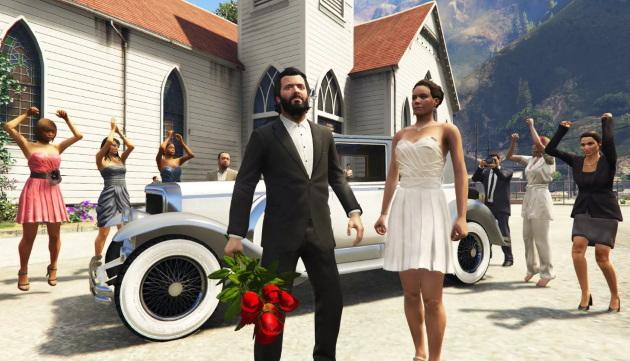 Свадьба в Grand Theft Auto 5