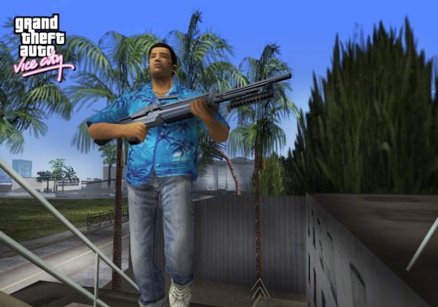 Главный герой игры GTA Vice City