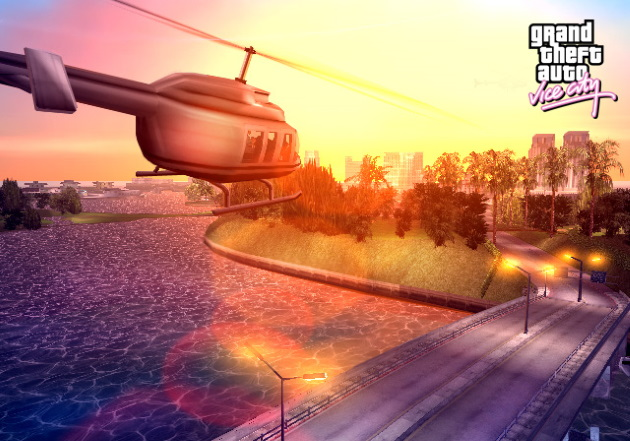 Просторы игры Grand Theft Auto Vice City