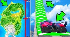 Как на скорости пролететь карту в ГТА 5
