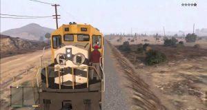 Угнать поезд в GTA 5