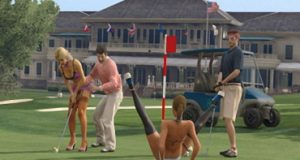 Игра в гольф GTA 5